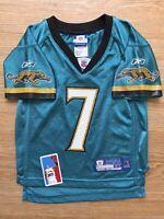 Byron Leftwich Size 4T Jacksonville Jaguars NFL Toddler Jersey Reebok Football