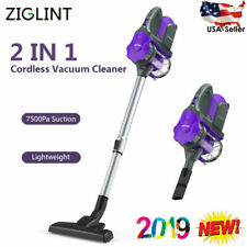 2in1 Cordless Vacuum Handheld Stick Bagless Cleaner Carpet Dust Collector 7500PA