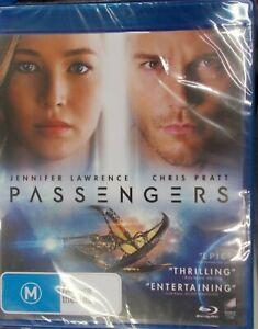 Passengers Blu-ray Region B BRAND NEW