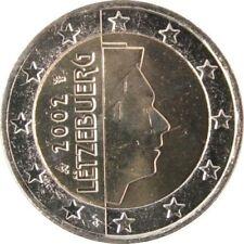 Pièces euro du Luxembourg pour 2 Euro année 2002