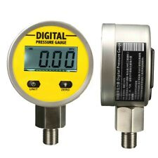 Digital Hydraulic Pressure Gauge 66mm 250BAR/3600PSI (BSP1/4)  Base Entry !