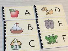 Montessori materials - Pre-Reading Series - 26 Pre-reading Alphabet Booklets