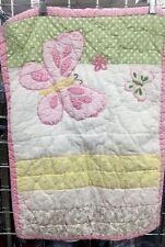 Pottery Barn Kids Standard Pillow Sham Butterfly Theme