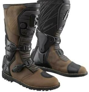 NEW Gaerne G-Dakar Gore-Tex Motorcycle Boots - Brown from Moto Heaven