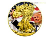 1 $ Dollar President Donald Trump Spécial Eagle Liberty USA argent 1 once 2016