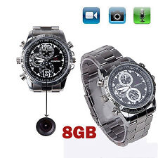 Spy Wrist Watch 8GB Mini Hidden Camera Record Video DVR DV Camcorder