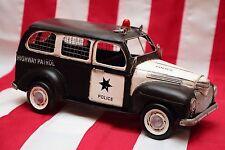 RARE POLICE CHEVROLET tin toy tinplate car blechmodell auto handmade