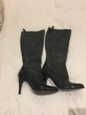 BRAND NEW Pied a Terre grey leather knee high boots. Size EU 40 UK 6.5 RRP £250!