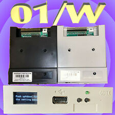 HxC Floppy Emulator With OLED Screen (Korg 01/W) + Pre-Loaded USB Drive
