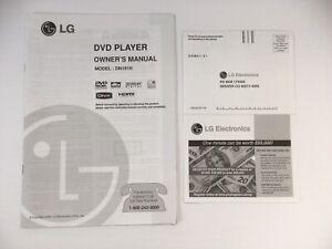 Las Mejores Ofertas En Tv Video Y Audio Para El Hogar Manuales Para Dvd Player Ebay