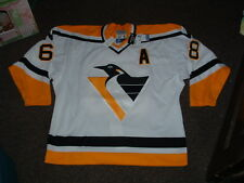 JAROMIR JAGR PITTSBURGH PENGUINS AUTHENTIC STARTER HOME HOCKEY JERSEY sz 54r NWT