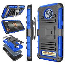 For Motorola Moto Z3 Z2 Play / Moto Z Z2 Force Belt Clip Holster Kickstand Case