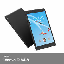 "Lenovo Tab4 8 Tablet 8""HD Wi-Fi Quad 1.4GH 2G/16G 310g Android7.1 20Hr UPS Black"