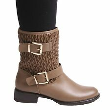 NEW LADIES WOMENS ANKLE WINTER BOOTS FASHION EVERYDAY STYLE SHOES 3 4 5 6 7 8