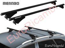 BARRE PORTATUTTO CORRIMANO MENABO TIGER XL BLACK AUDI A4 (8K) Avant 08>14