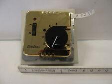 Berker Raumtemperaturregler - Gold - 10A 24V Nennstrom - +5 - +30°
