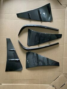 Carbon Fiber Fender Ducts + Rear Bumper Extensions To Fit Lexus RCF 15-19