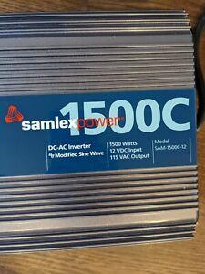 Samlex 1500W DC-AC Inverter / Charger
