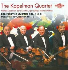 Shostakovich: Quartets Nos. 1 & 8; Miaskovsky: Quartet No. 13, New Music