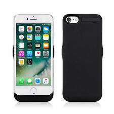 For iPhone 6 6s 7 7 Plus Black Battery Case External Power Pack Charging Charger