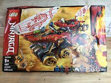 LEGO Ninjago: Land Bounty (70677) Open Box Boat Ship Damaged Box
