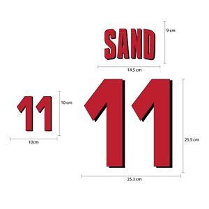 Denmark Away World Cup 1998 PU Football SOCCER NAME NUMBER PRINT