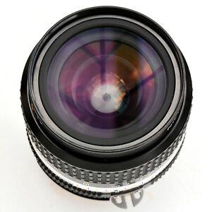 Nikon Nikkor 24mm f/2 AIS Super Sharp Wide Angle Lens.Mint- Tstd See Test Images