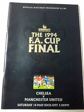 1994 FA CUP FINAL- MANCHESTER UNITED v CHELSEA