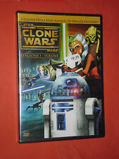 DVD ANIMAZIONE -STAR WARS-CLONE WARS- stagione 1- numero 2- SIGILLATO