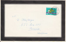 Switzerland Sc 413 on 1962 Mourning Cover + Funeral Not