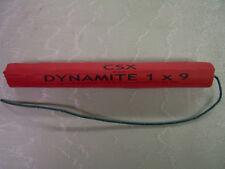 Lifesize Stick Fake Dynamite Stage Movie Prop Replica Real Fuse Joke Gag C4 Bomb