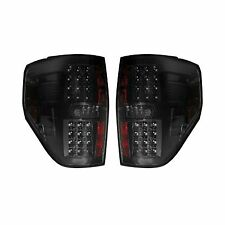 RECON 264168BK Ford F-150 Raptor 09-14 Smoked-Red Tail Lights LED
