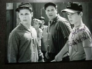 BUDDY JOE HOOKER As CHESTER Hand Signed Autograph 4X6 Photo - LEAVE IT TO BEAVER