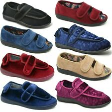 Ladies Wide Fit Slippers Ladies Extra Wide Fit Slippers Adjustable Slippers