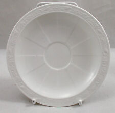 Villeroy & and Boch CAMEO WEISS white saucer for espresso cup 13cm NWL