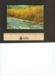 Vintage 1950's TUCO PUZZLE MINIATURES: Poplars in Autumn, Series #300, 75-100 pc
