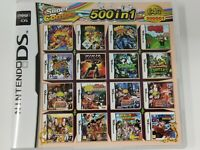 500 in 1 Game Cartridge Multigame Nintendo DS NDS NDSL NDSi 3DS 2DS XL USA SHIP