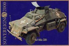 Sovereign 1:35 WWII German Sd.Kfz 221 - Multimedia Full Kit