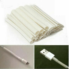 20x White 3/4:1 Heat Shrink Tube Wire For Data Cable