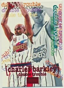 1996-97 SkyBox Premium Double Trouble Rubies Charles Barkley Ruby Rockets #260
