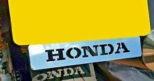 HONDA CBR600 F2 NUMBER PLATE EMBLEM BADGE MIRROR POLISHED STAINLESS STEEL NP005