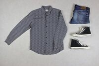 Folk - Shirt - Grey Check - 3/Medium
