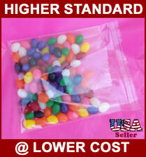 "5000 Pcs 2x3"" Polypropylene Bag Clear Resealable PP Bags 1.5 Mil Display Charms"
