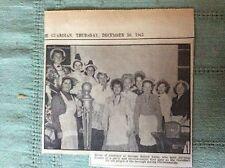 d8-1 ephemera 1965 picture saltash round table wives fancy dress