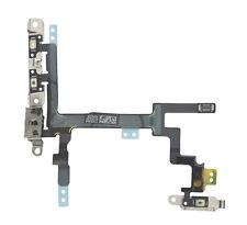 100% ORIGINALE IPHONE 5 5G POWER, Volume & Muto Pulsante Flex su Off cavo Genuine