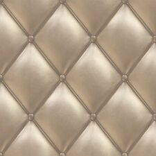 PE01023 Galerie Exposed Textured Gold Padded Headboard Feature Wallpaper