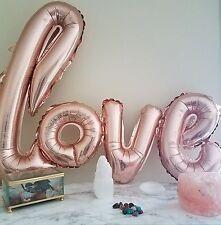 Love Balloon Rose Gold Jumbo Party Wedding Banner Anniversary Home Decor