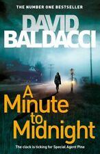 A Minute to Midnight by David Baldacci (2019, Hardback)