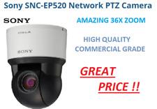 "Sony Pro SNC-EP520 PTZ IP Security Camera 36x Zoom,1/4"" CCD Sensor 720P HIGH END"