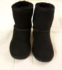 UGGS Kids Unisex Black Size 1(US) Boots New